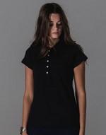 Polos coupe cintrée impression directe Mantis Ladies Superstar Polo Shirt Mantis