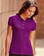 Polos broderie Polo femme stretch Russell