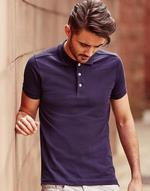 Polos broderie Polo homme stretch Russell