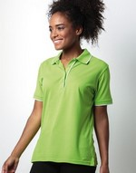 Polos broderie Womens Essential Polo Shirt Kustom Kit
