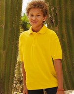 Polos fruit of the loom Kids Polo 65:35 Fruit of the Loom