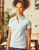 Polos jerzees flocage Ladies Polo Poly-Cotton Blend Jerzees