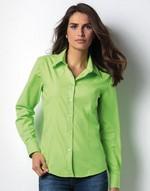 Chemises flocage Kustom Kit Ladies Long Sleeve Workforce Shirt Kustom Kit