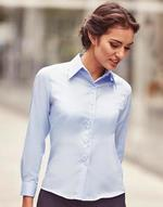 Chemises flocage Ladies' Long Sleeve Ultimate Non-iron Shirt Russell
