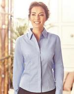 Ladies L/SL Poplin