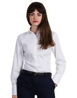 Ladies` Heritage Long Sleeve Poplin Shirt