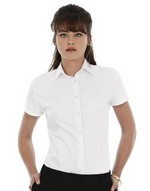 Ladies Heritage Short Sleeve Poplin Shirt