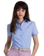 Ladies Smart Short Sleeve Poplin Shirt