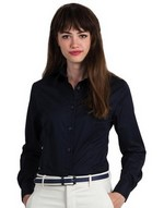 Ladies Sharp Twill Long Sleeve Shirt