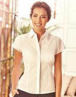Chemise femme manches courtes poplin