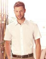 Chemise homme manches courtes poplin