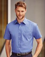 Chemises jerzees flocage Poplin Shirt Jerzees