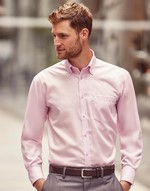 Chemises flocage Men´s Long Sleeve Ultimate Non-iron Shirt Russell