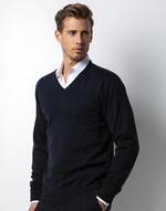 Pulls homme Arundel V-Neck Sweater Kustom Kit