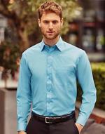 Chemises jerzees flocage Longsleeve Poplin Shirt Jerzees