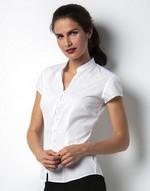 Chemises coupe cintrée flocage Continental Blouse Mandarin Collar Kustom Kit