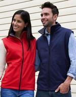 Vestes légères Core Softshell Bodywarmer Result