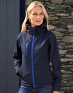 Ladies TX PerforHommece Hooded Softshell Jacket