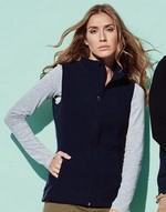 Polaires avec zip Active Fleece Vest Women Active by Stedman