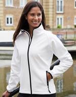 Vestes légères noir Bedruckbare Damen Softshell Jacke Result