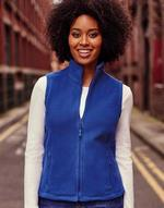 Vestes légères Ladies' Gilet Outdoor Fleece Russell