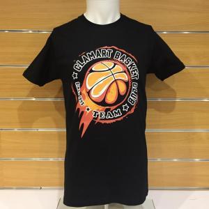 Sérigraphie logo basket sur t-shirt