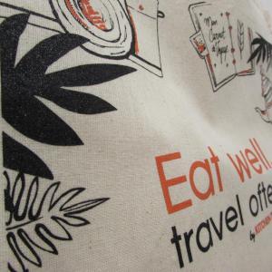 Sérigraphie sur tote bag pour Kitchen Trotter