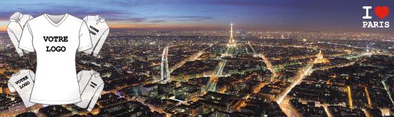 Impression t-shirt Paris