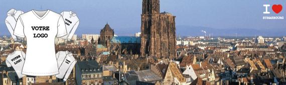 Impression t-shirt Strasbourg